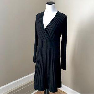 Calvin Klein Ribbed Sweater Long Sleeve Dress